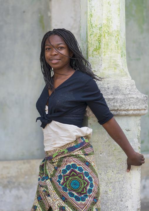 Beautiful Young Woman, Ibo Island, Cabo Delgado Province, Mozambique