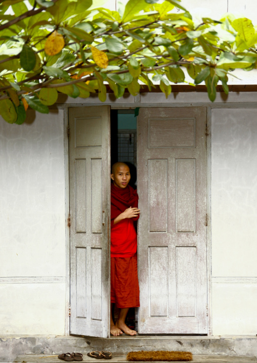 Buddhist Monk In Amarapura, Myanmar