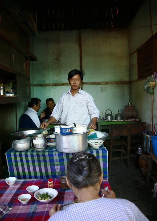 Local Restaurant In Bagan, Myanmar