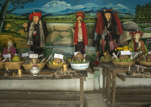 Offerings Made By Drivers On A Hill Road, Mindat, Myanmar
