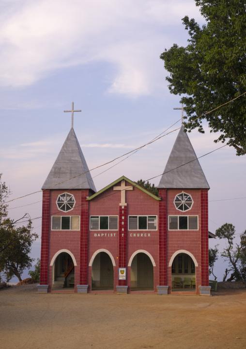 Baptist Church, Mindat, Myanmar
