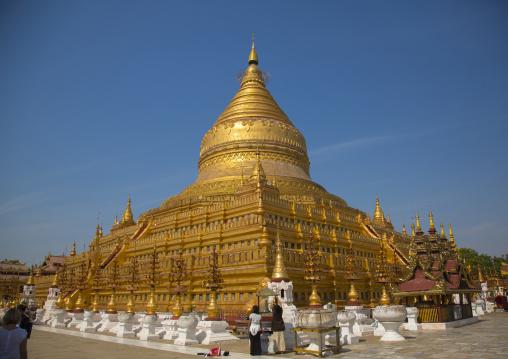 Shwe Zigon Paya Golden Temple, Bagab, Myanmar