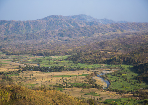 Colourful Plantations, Mindat, Myanmar