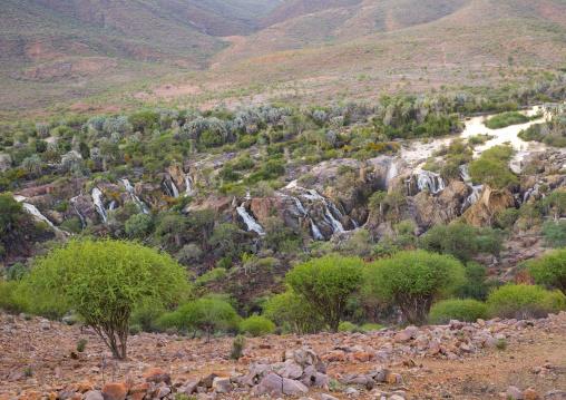 River Kunene And The Epupa Waterfalls, Namibia