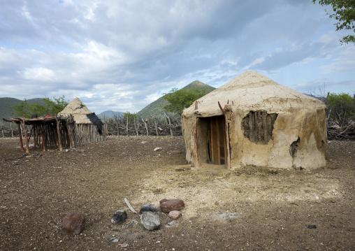 Traditional Himba Village, Epupa, Namibia