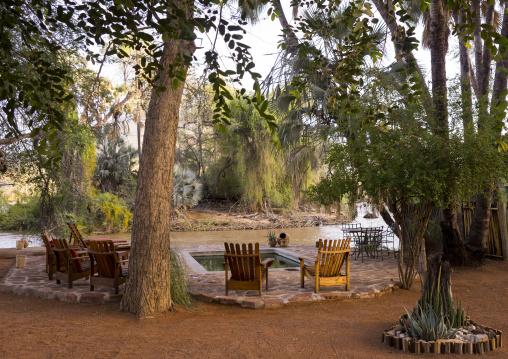 Epupa Falls Hotel Pool, Namibia