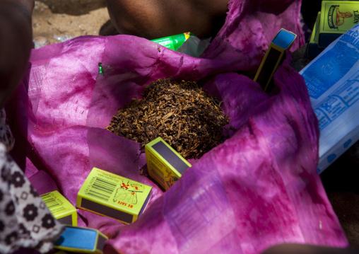 Group Of Bushman Woman Sharing Tobacco, Tsumkwe, Namibia