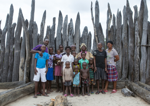 The Queen Of The Okwanyama And Her Relatives, Omhedi, Namibia
