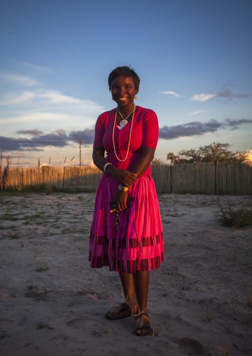 Ovambo Woman, Ondangwa, Namibia