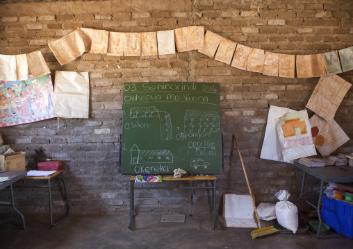 Classroom In A Rural School, Ruacana, Namibia