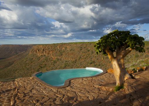 Grootberg Lodge Pool, Namibia