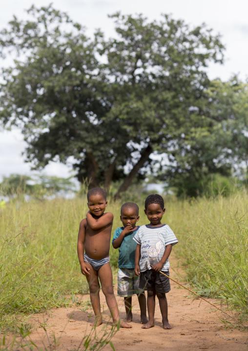 Bushman Children, Tsumkwe, Namibia
