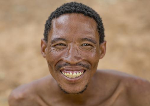 Smiling Bushman, Tsumkwe, Namibia
