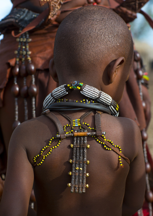 Himba Child, Epupa, Namibia
