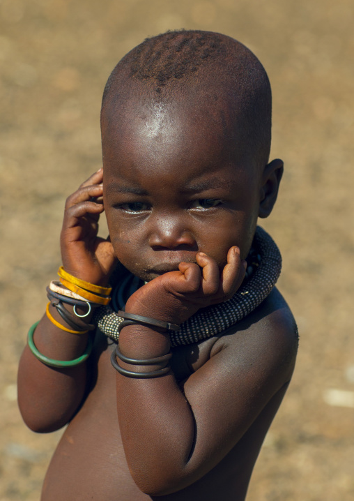 Himba Baby, Epupa, Namibia