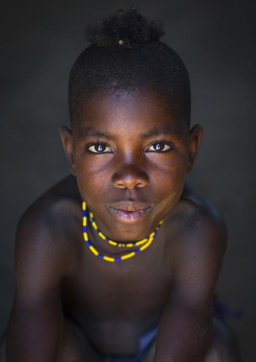 Mucawana Tribe Boy, Ruacana, Namibia