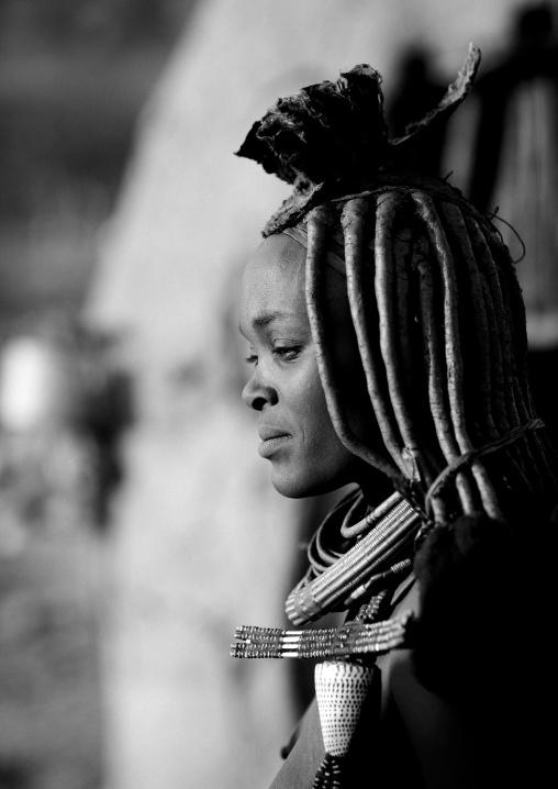 Himba Woman, Okapale Area, Namibia