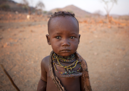 Himba Kid, Okapale Area, Namibia