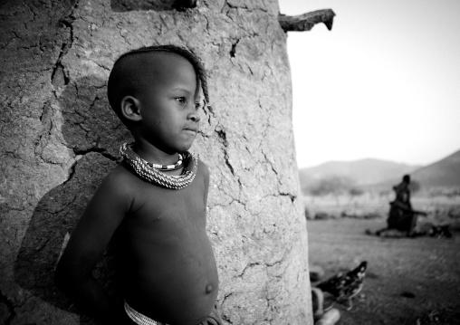 Himba Twin Boy, Okapale Area, Namibia