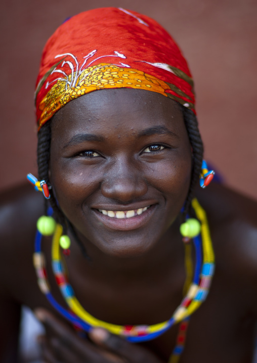 Misses Salina A Beggar Woman And Refugee Of The Angolan Civil War, Opuwo, Namibia