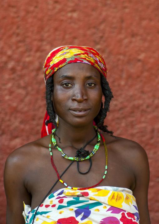 Mundimba Refugee Woman Of The Angolan Civil War, Opuwo, Namibia