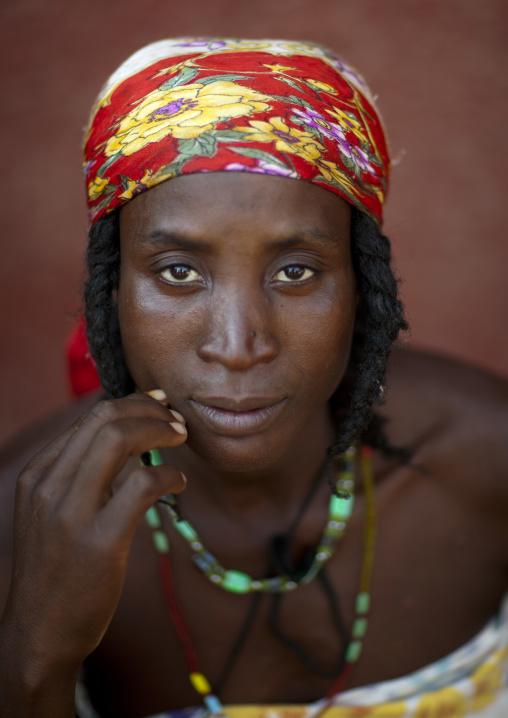 Miss Helena A Beggar Woman And Refugee Of The Angolan Civil War, Opuwo, Namibia