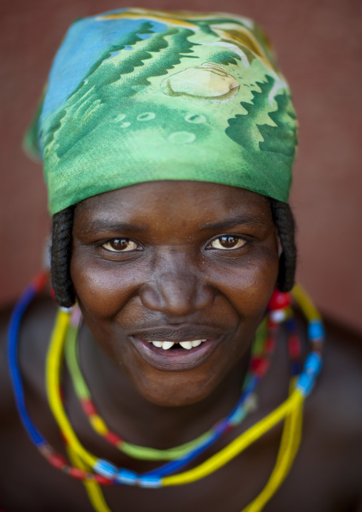 Beggar Woman, Refugee Of The Angolan Civil War, Opuwo, Namibia