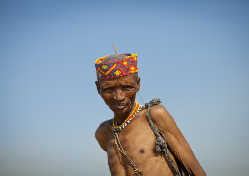 Old San Man, Namibia