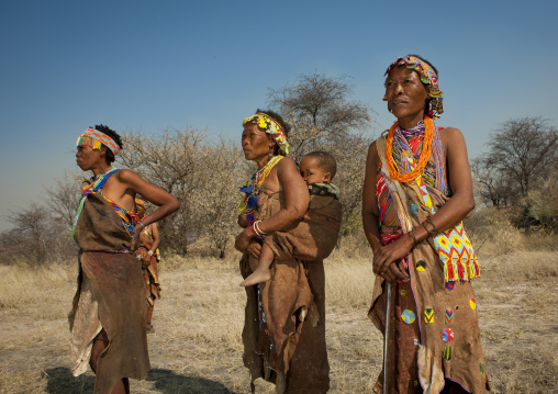 Women From The San Tribe, Namibia