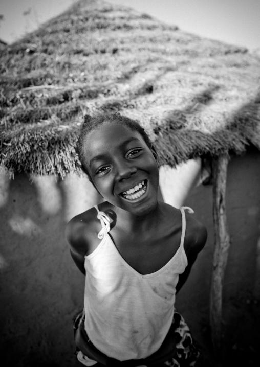 Ruth, An Ovambo Girl, Ruacana Area, Namibia