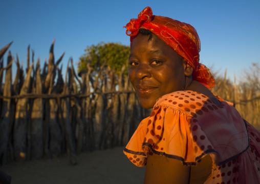 Ovambo Woman, Ongula, Namibia