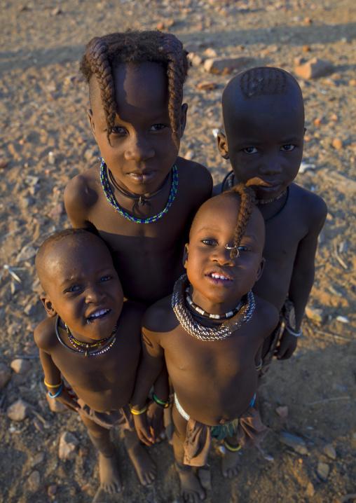 Himba Children, Epupa, Namibia