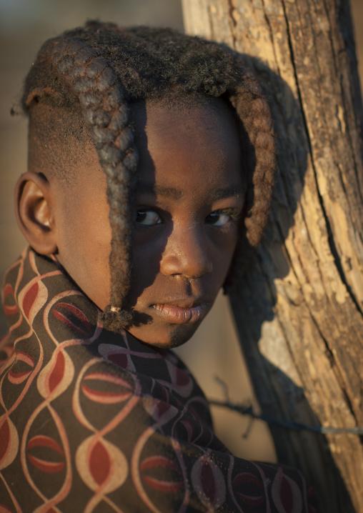 Himba Girl, Karihona Village, Ruacana Area, Namibia