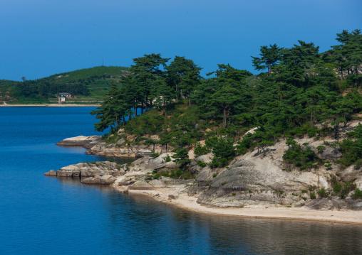 Lagoon in samil lake, Kangwon-do, Kumgang, North Korea