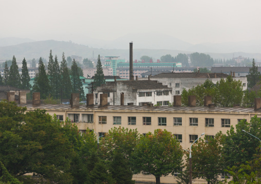 Factories in the city center, South Hamgyong Province, Hamhung, North Korea