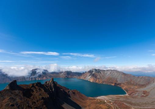 Mount Paektu and its crater lake, Ryanggang Province, Mount Paektu, North Korea