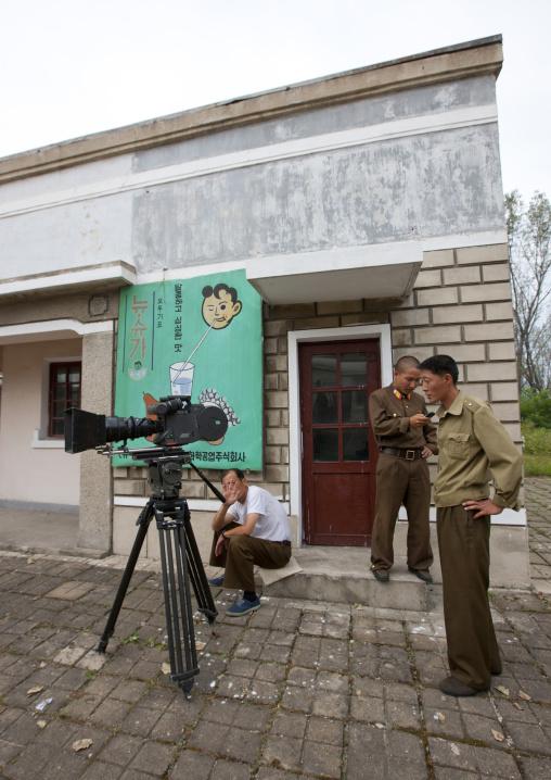 Arriflex movie camera at Pyongyang film studio, Pyongan Province, Pyongyang, North Korea