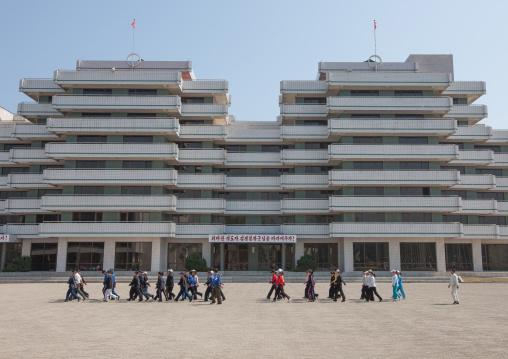 Songdowon international children's camp buildings, Kangwon Province, Wonsan, North Korea