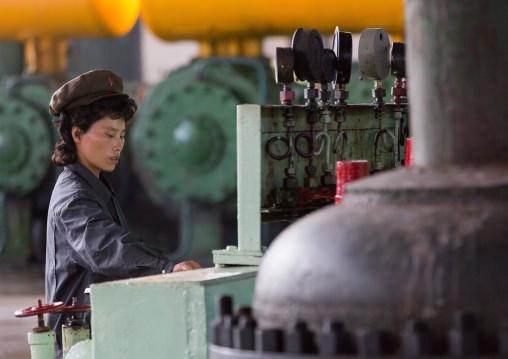 Hungnam nitrogen fertilizer plant, South Hamgyong Province, Hamhung, North Korea