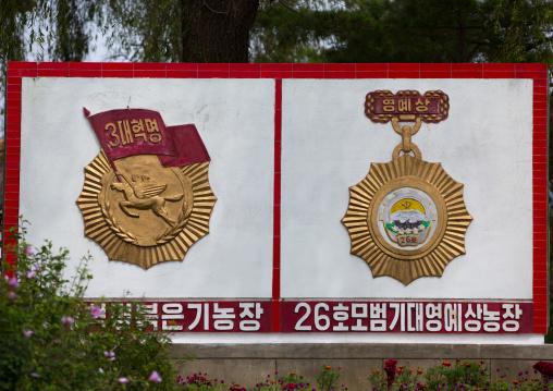 School honorary award, South Hamgyong Province, Hamhung, North Korea