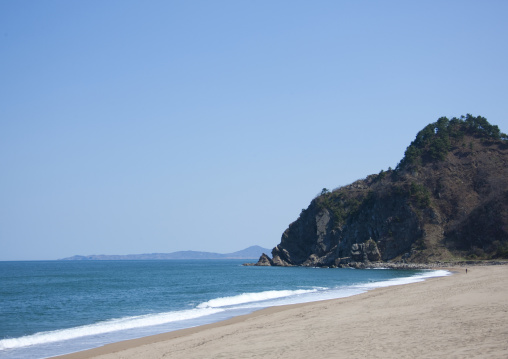 Beach in the countryside, North Hamgyong Province, Chilbo Sea, North Korea