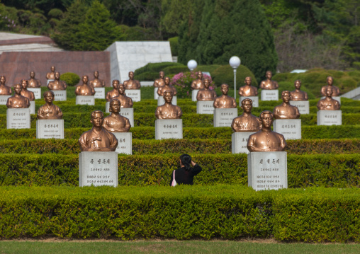 Taesongsan revolutionary martyr's cemetery, Pyongan Province, Pyongyang, North Korea