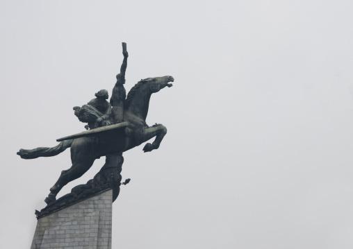 Chollima statue in Mansu hill, Pyongan Province, Pyongyang, North Korea