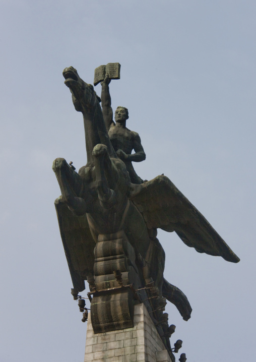 Chollima horse statue, Pyongan Province, Pyongyang, North Korea