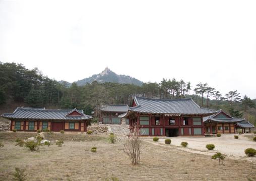Buddhist temples, Kangwon-do, Mount Kumgang, North Korea