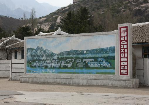 Map of future kumgang resort area, Kangwon-do, Mount Kumgang, North Korea
