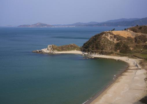 Beach along the coast, Kangwon Province, Wonsan, North Korea