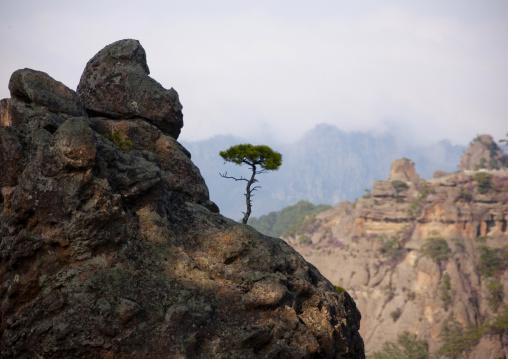 View on inner Chilbo, North Hamgyong province, Chilbosan, North Korea