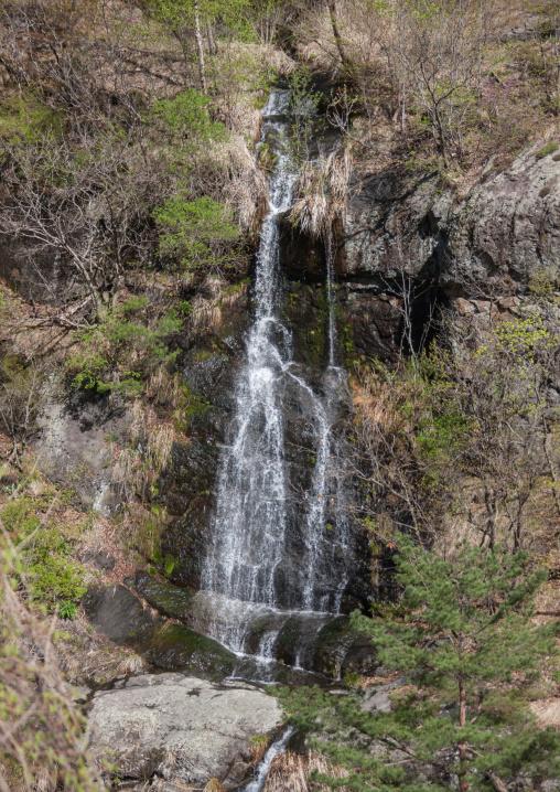 Waterfall, North Hamgyong province, Chilbosan, North Korea
