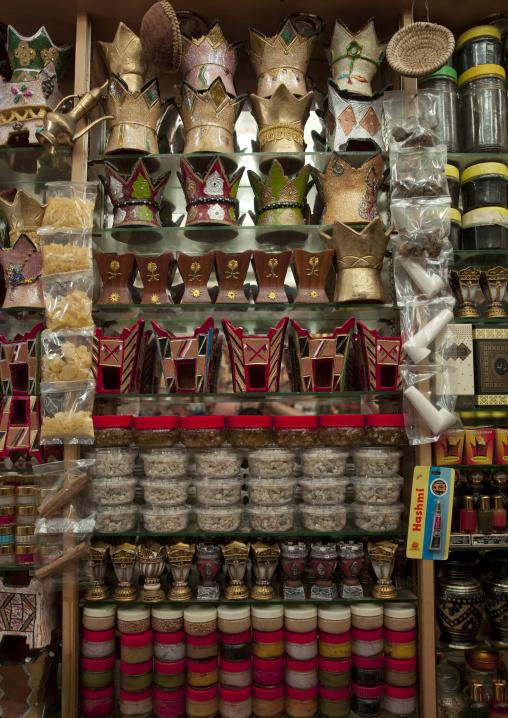 Incense Burner Pot Displayed In Salalah Souq, Oman